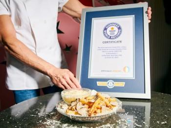 Ресторант счупи рекорд за цената на порция пържени картофи